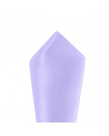 """Cravate Slim Bicolore Col """"Violet"""" / Uni """"Noir"""""""