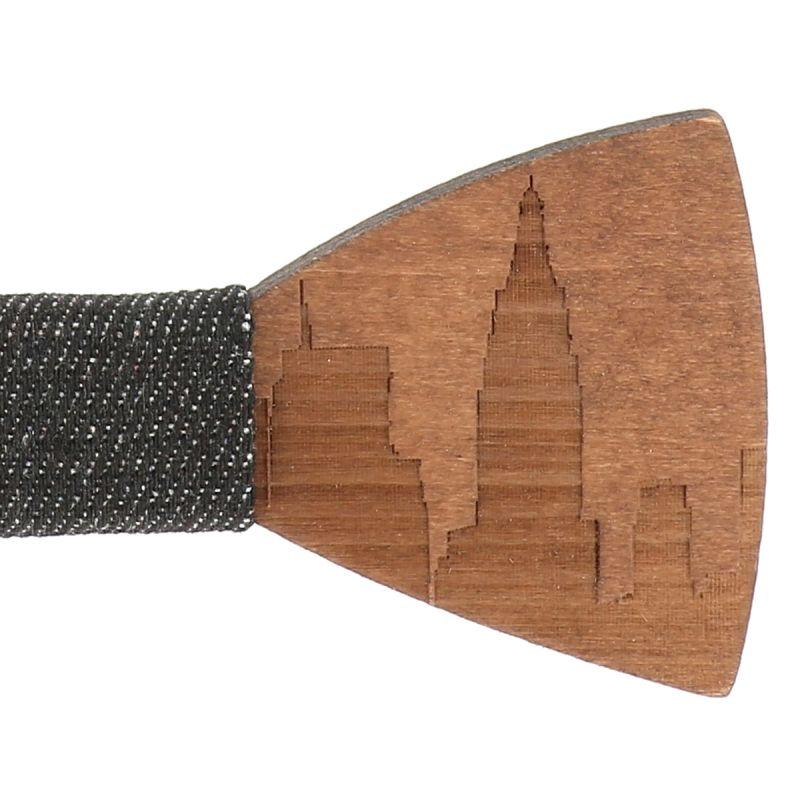 Cravate Léopard Bleu - Cravate Fantaisie