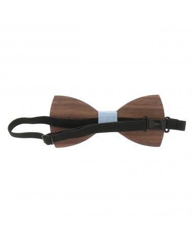 Cravate Tricot Bleu marine Rayée Bordeaux et Blanc