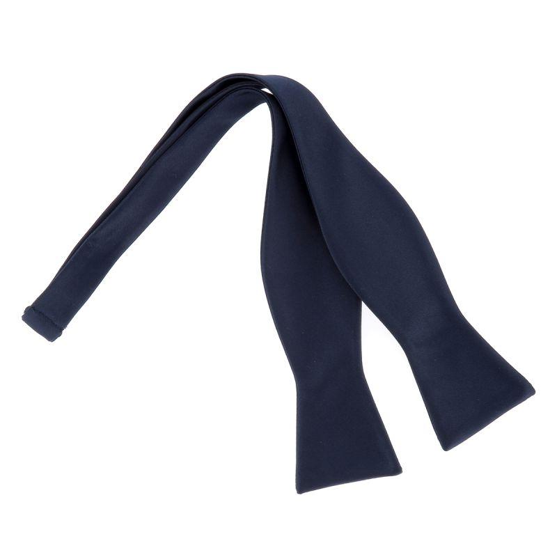 Noeud Papillon à Nouer Bleu marine Premium