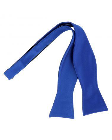 Noeud Papillon à Nouer Bleu roi Premium