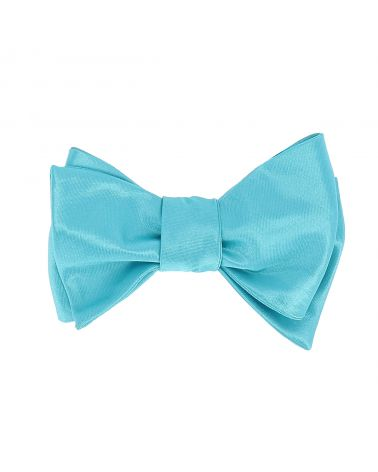 Noeud Papillon à Nouer Bleu turquoise