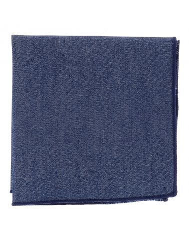 Pochette Costume Jean Bleu foncé