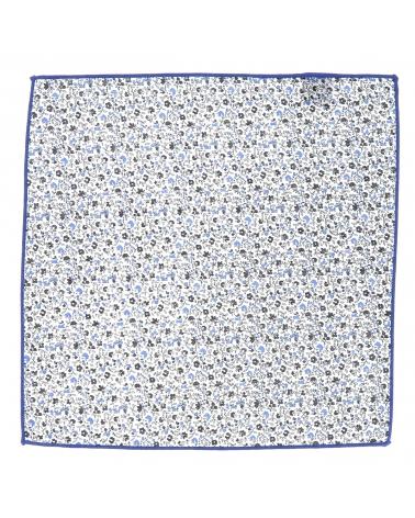 Pochette Costume Liberty Bleu