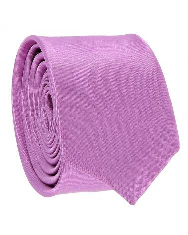 Cravate Slim Mauve