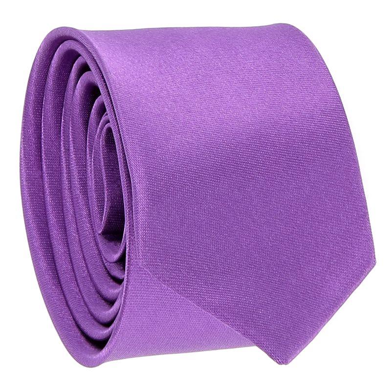 Cravate Slim Violet clair