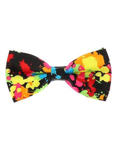 Noeud Papillon Eclaboussures Multicolores