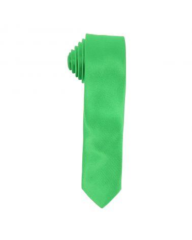 Cravate Slim Verte