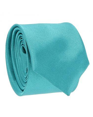 Cravate Slim Bleu canard