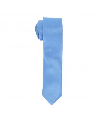 Cravate Slim Bleue