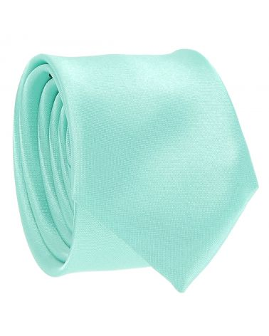 Cravate Slim Vert d'eau