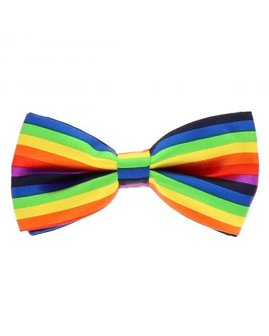 Noeud Papillon Arc-en-ciel Multicolore