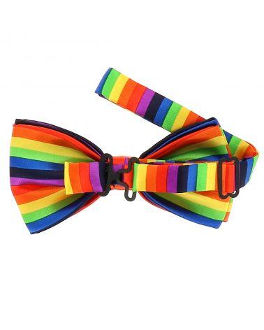Noeud Papillon Arc-en-ciel Multicolore