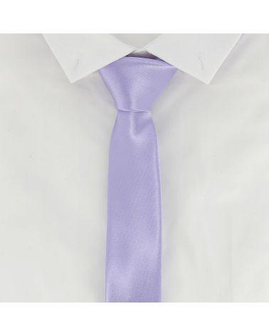 Cravate Slim Parme