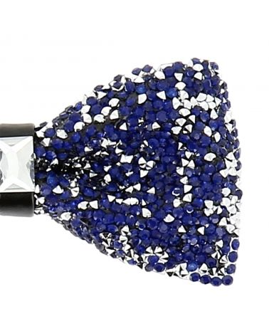 Noeud Papillon Strass Bleu roi