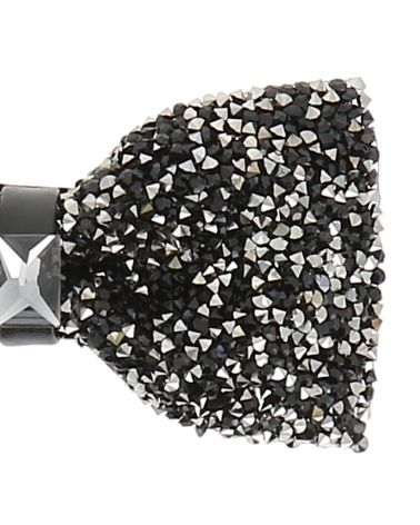 Noeud Papillon Strass Noir