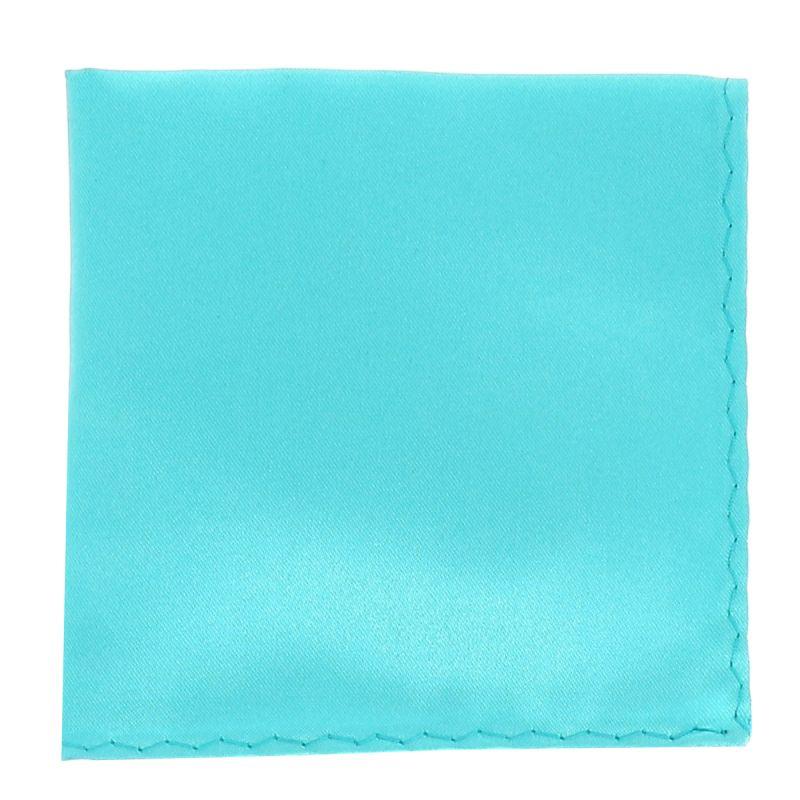 Pochette Costume Bleu Turquoise