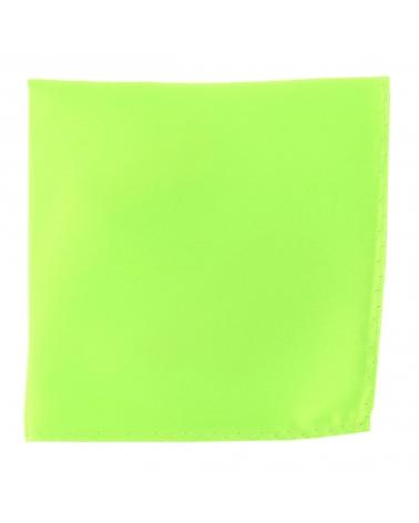 Pochette Costume Vert Fluo