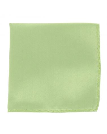 Pochette Costume Vert Amande