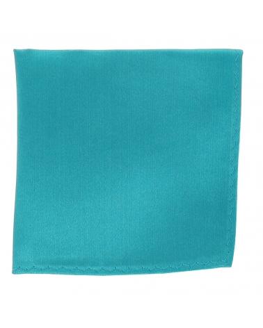 Pochette Costume Bleu canard