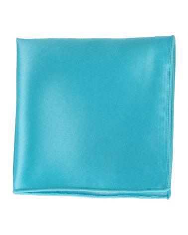 Pochette Costume Bleu turquoise Premium