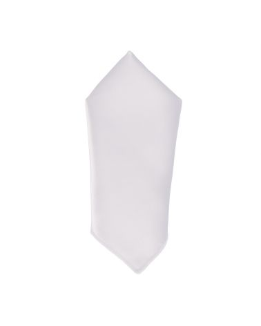 Pochette Costume Blanche Premium