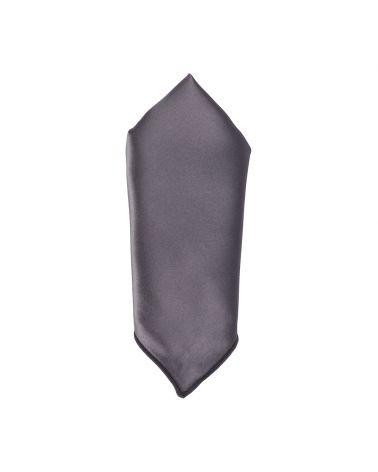 Pochette Costume Gris anthracite Premium