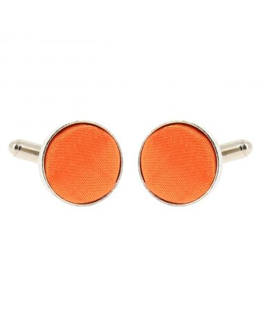 Bouton de Manchette Orange