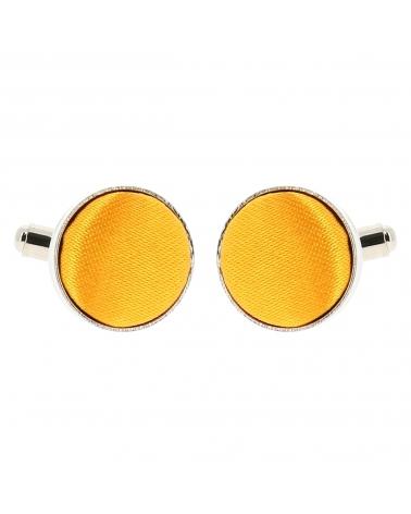 Bouton de Manchette Jaune orange