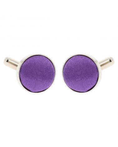 Bouton de Manchette Violet clair