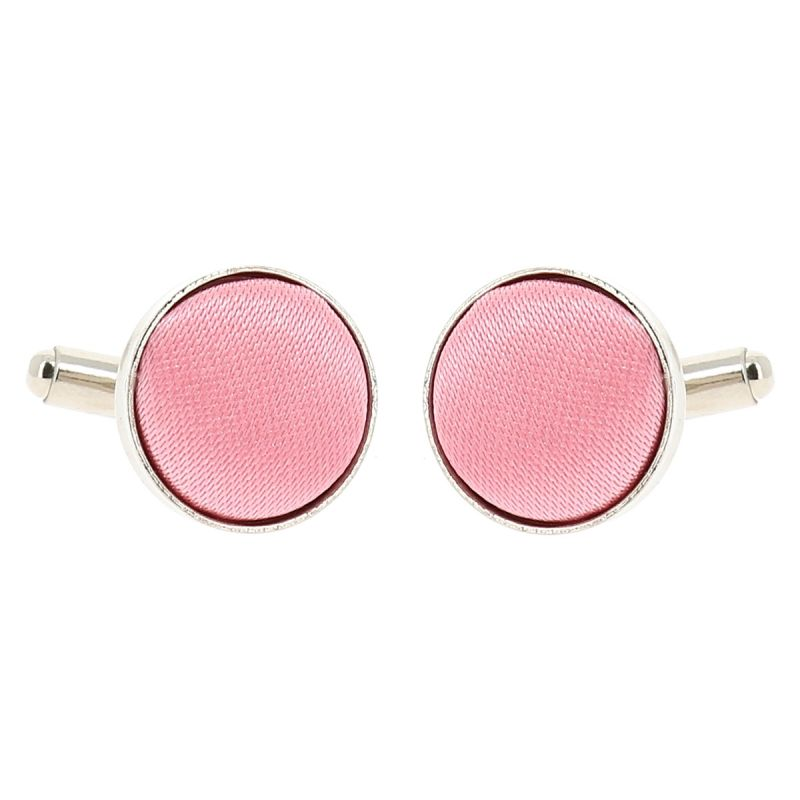 Bouton de Manchette Rose pale