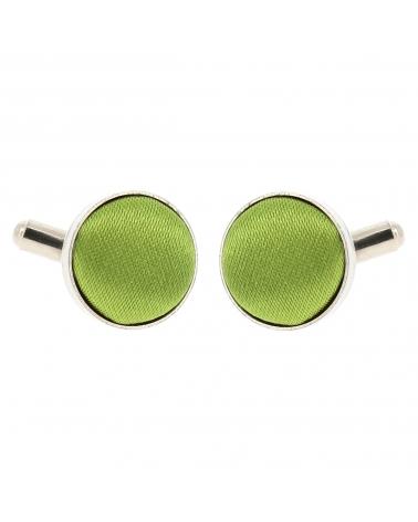 Bouton de Manchette Vert olive