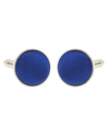 Bouton de Manchette Bleu roi