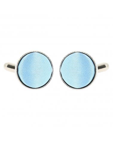 Bouton de Manchette Bleu ciel