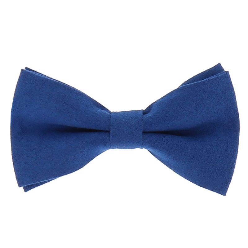 Noeud Papillon Bleu roi Suédine