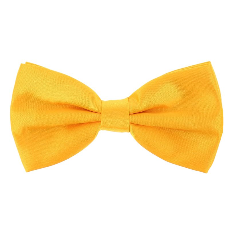 Noeud Papillon Jaune Orange