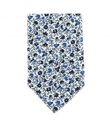 Cravate Garçon Liberty Bleu