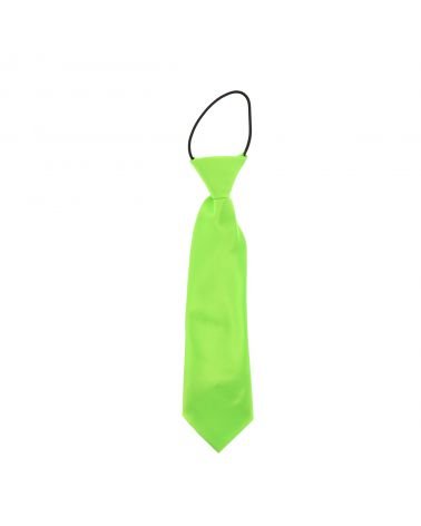 Cravate Enfant Vert fluo