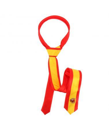 Cravate Drapeaux Espagnol