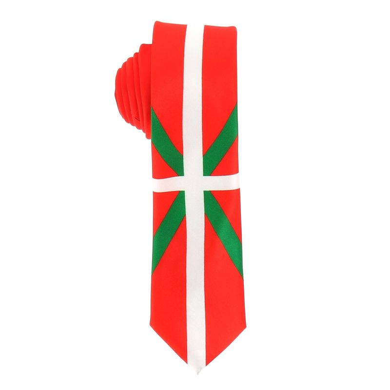Cravate Drapeaux Basque