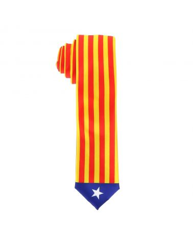 Cravate Drapeaux Catalan