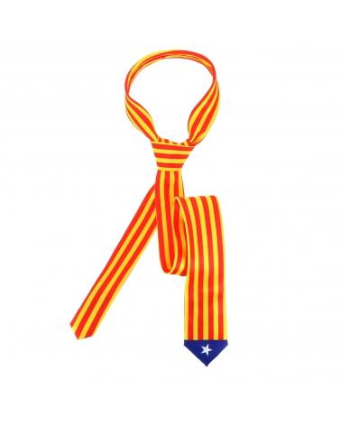 Cravate Drapeaux Catalan