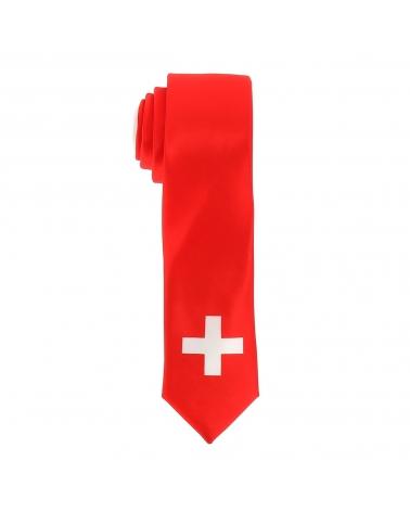 Cravate Drapeaux Suisse