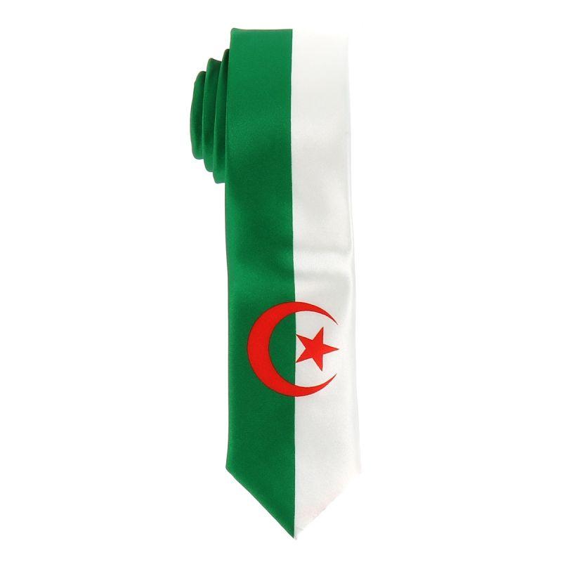 Cravate Drapeaux Algérien