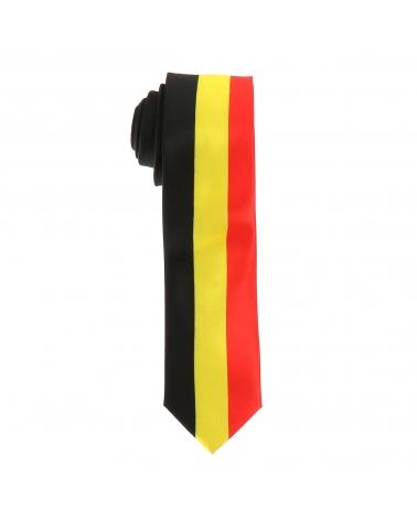 Cravate Drapeaux Belge