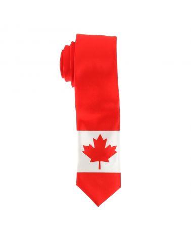 Cravate Drapeaux Canadien