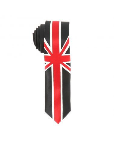 Cravate Drapeau Anglais Union Jack