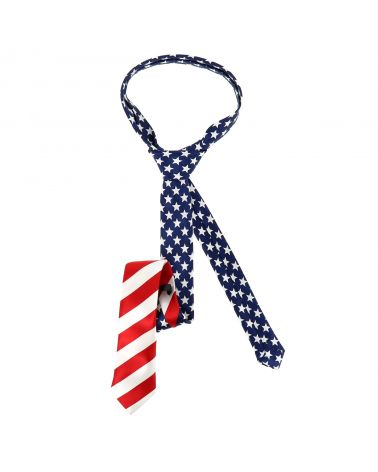 Cravate Drapeau Américain USA