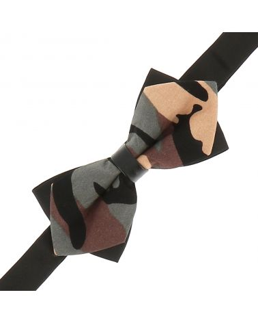 Noeud Papillon Pointu Camouflage