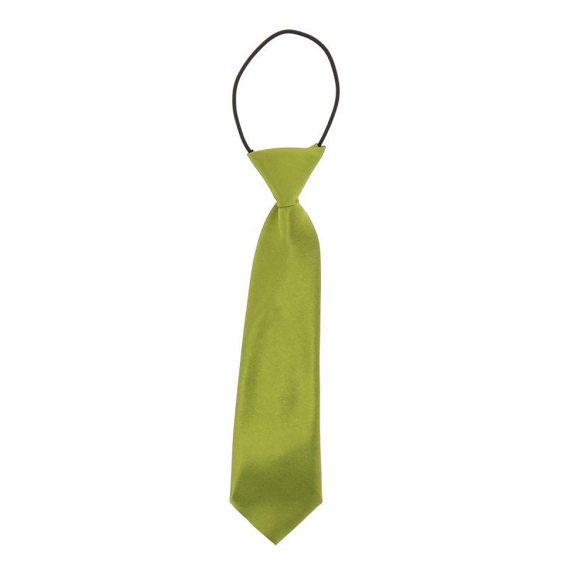 Cravate Enfant Vert olive